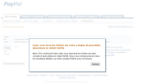 paypal Vérifier votre compte Paypal au Maroc et récupérer votre argent