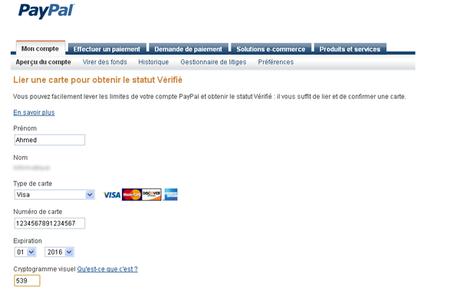paypal8 Vérifier votre compte Paypal au Maroc et récupérer votre argent