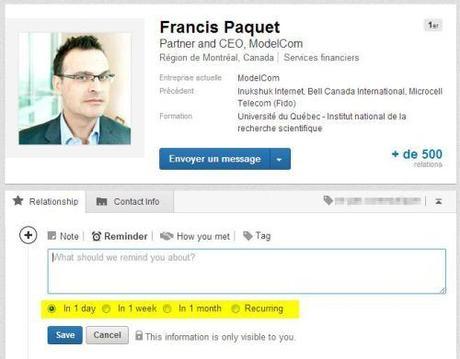 Linkedin contacts profil 2
