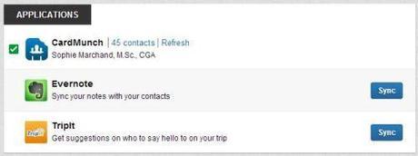 Linkedin contacts fenêtre 3
