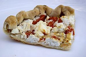 tarte_tomate_chèvre_chèvre frais_fromage_quiche_salade