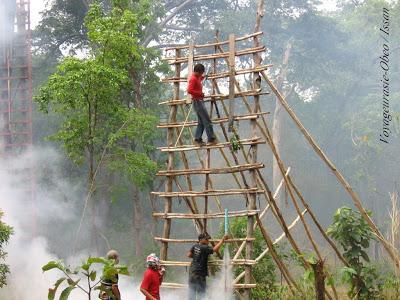 Rocket festival Nong-Khaï: Erreur de trajectoire: 2 morts (vidéo)