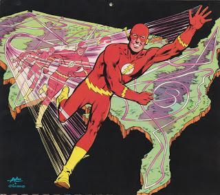 LE CALENDRIER DC COMICS 1976