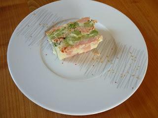 Terrine de saumon et brocoli