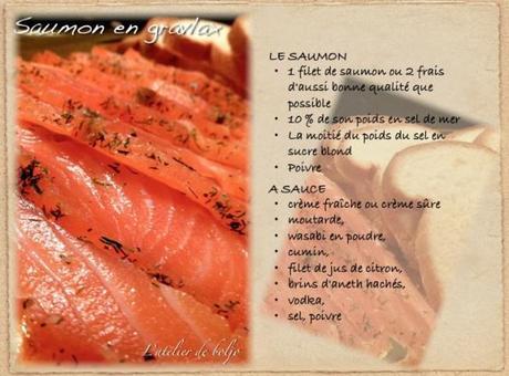Saumon en gravlax 2