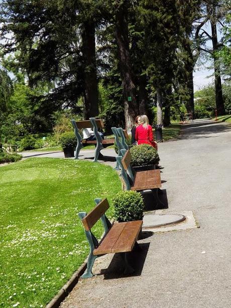 Banc Geant Jardin Des Plantes Nantes A Voir