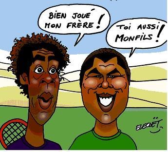 Monfils et Tsonga à Roland Garros