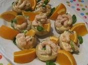 Fonds d'artichauts crevettes l'orange