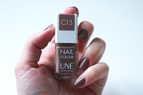 Vernis Une natural beauty test avis pinceau manucure Nail Colour C13 Taupe