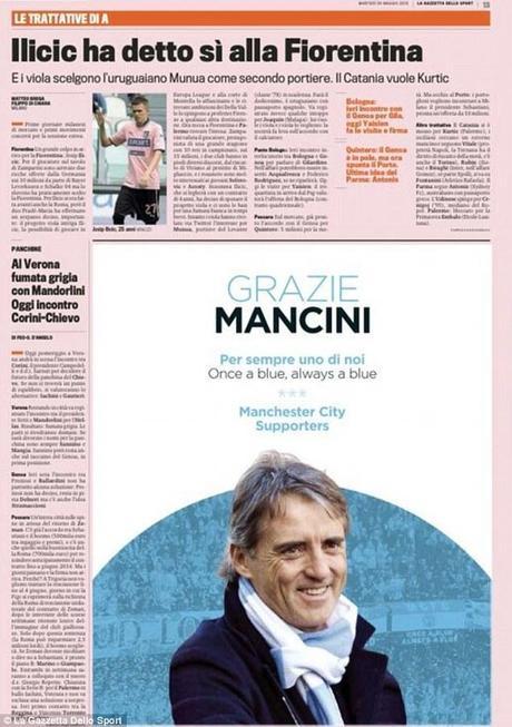 page-gazzetta-dello-sport-remerciements-mancini