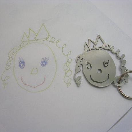 Convertir des dessins d'enfants en bijoux - Design