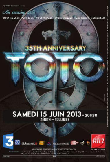 TOTO en concert au Zenith de Toulouse !