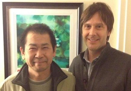 Yu Suzuki et Mark Cerny