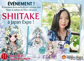 La féérie débarque à Japan Expo avec le retour de Shiitake