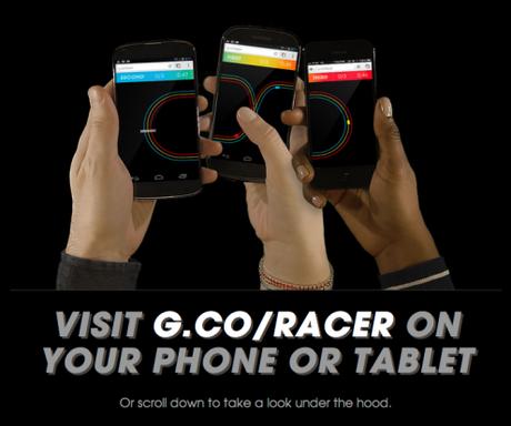 google chrome racer Google Chrome lance Roll It et Racer, deux jeux multijoueurs et multiplateformes