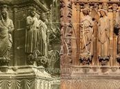 L'annonciation, ébrasement grand portail cathédrale Reims