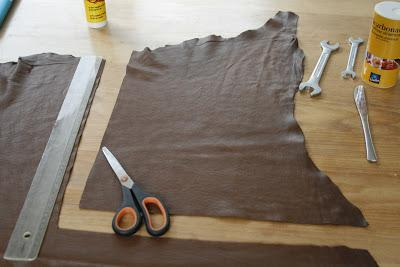 Do it yourself: 3D printing leather (Vlieger & Vandam knockoff)