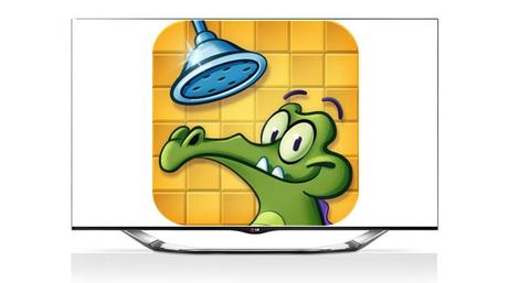 Where Is My Water LG SMart TV application