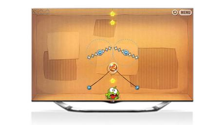 Cut The Rope LG Smart TV application