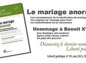 """mariage anormal"""" commander """"Liberté politique"""""""