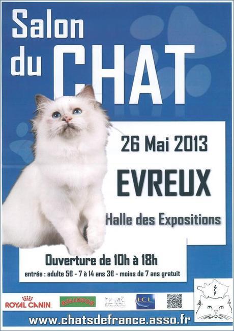Le Salon du chat - Evreux - éleveurs, chatons et exposition féline
