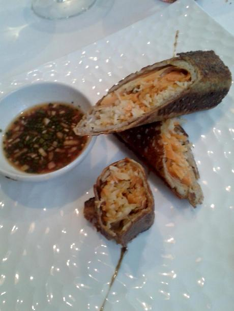 Jarasse Chait de tourteau décortiquée galette de blé noir sauce soja