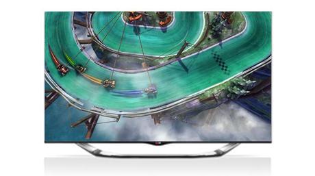 Slingshot Racing LG SMart TV application
