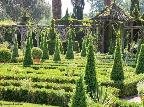 Un jardin baroque d couvrir - Taille d un chataignier ...