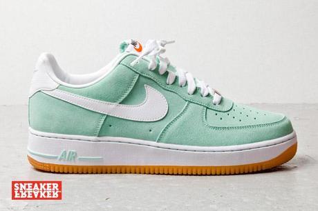 Nike Air Force 1 Suede Bleu