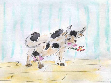 """Résultat de recherche d'images pour """"une jolie fleur dans une peau de vache"""""""