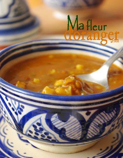harira marocaine soupe traditionnelle