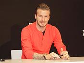 David Beckham rencontré fans dédicacé collection chez H&M, Paris