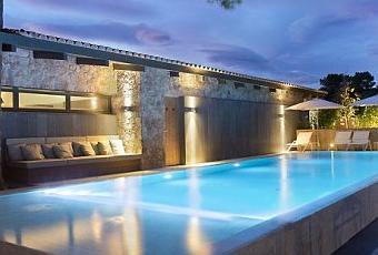 visite d co hotel la plage casa del mar design hotel. Black Bedroom Furniture Sets. Home Design Ideas