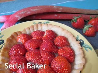 Tarte fraise et rhubarbe - CulinoVersion