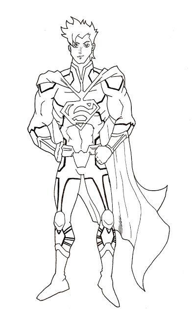 Petit dessin de superman paperblog - Dessin de superman ...