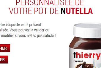 tartine ton pr 233 nom sur ton pot de nutella paperblog