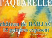 Premier salon d'aquarelle Barjac (Gard)