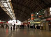 Ecriture dans gare Bilbao