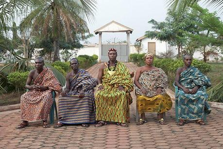 Kente or kente from Ghana, a royal cloth.