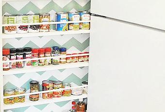 la bonne astuce pour ranger sa cuisine qui ne prend pas. Black Bedroom Furniture Sets. Home Design Ideas