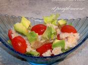 Salade crabe pamplemousse
