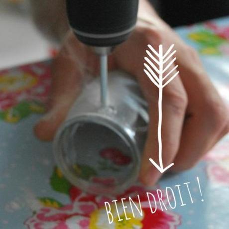 Diy luminaire d ext rieur en verre et bois flott ou - Comment percer du verre ...