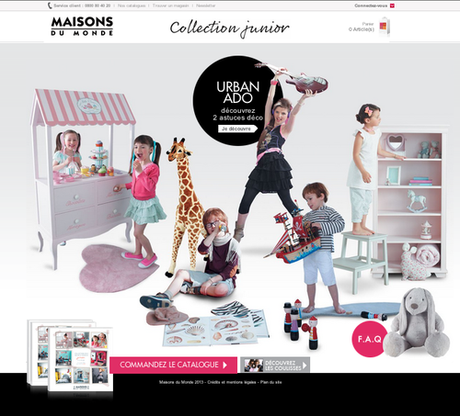 la tout nouvelle collection junior de maison du monde ma s lection paperblog. Black Bedroom Furniture Sets. Home Design Ideas