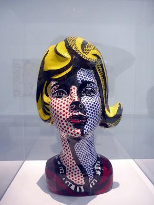 Roy Lichtenstein au Centre Pompidou et mon coeur fait BOUM !!