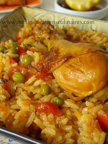 Riz au poulet cuisine algerienne paperblog - Recette de cuisine de poulet ...