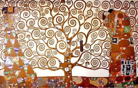 L 39 arbre de vie gustav klimt 1862 1918 paperblog for Biographie de klimt