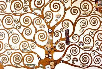 L 39 arbre de vie gustav klimt 1862 1918 paperblog - Signification arbre de vie ...