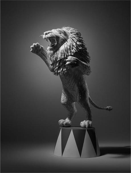 Receipt Lion by Kyle Bean