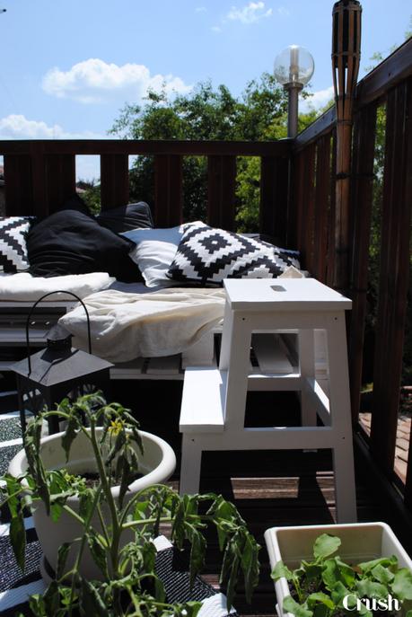 D coration ext rieure bienvenue sur ma petite terrasse d t paperblog - Idee deco klein terras ...
