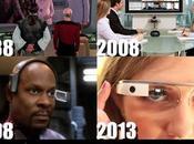 Infographie Star Trek connaît l'avenir